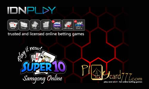 Super10 Online Kartu Samgong Modern IDNPlay