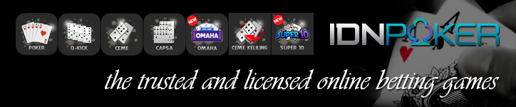 Situs Judi Poker Uang Asli Online Terpercaya - IDNPoker