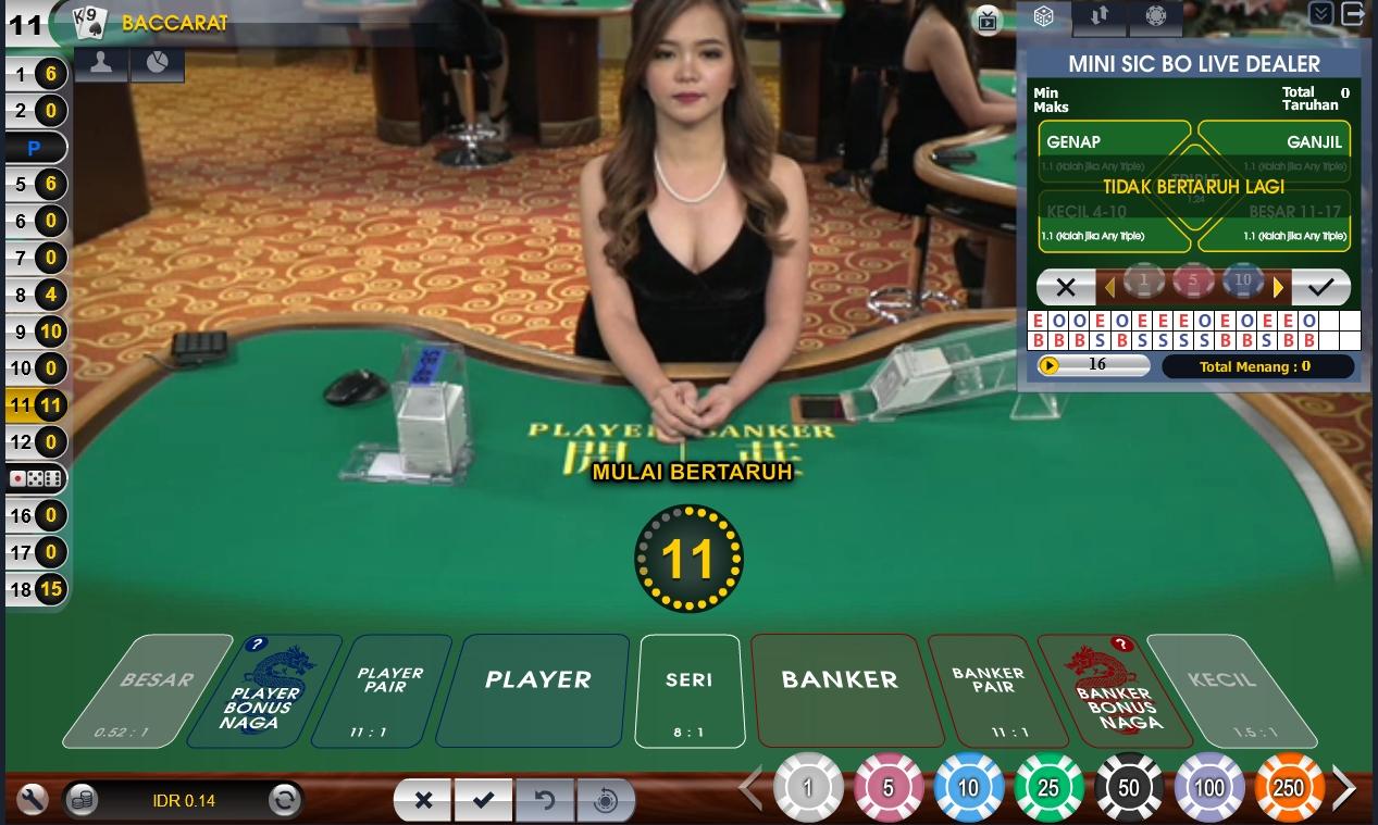 meja taruhan baccarat online - playcard777.com